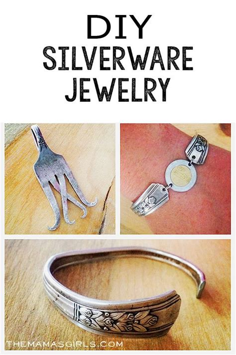 how to make jewelry from silverware silverware jewelry on spoon jewelry fork