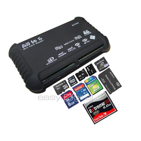 how to make sd card readable all in 1 multi memory card usb reader sd sdhc mini micro