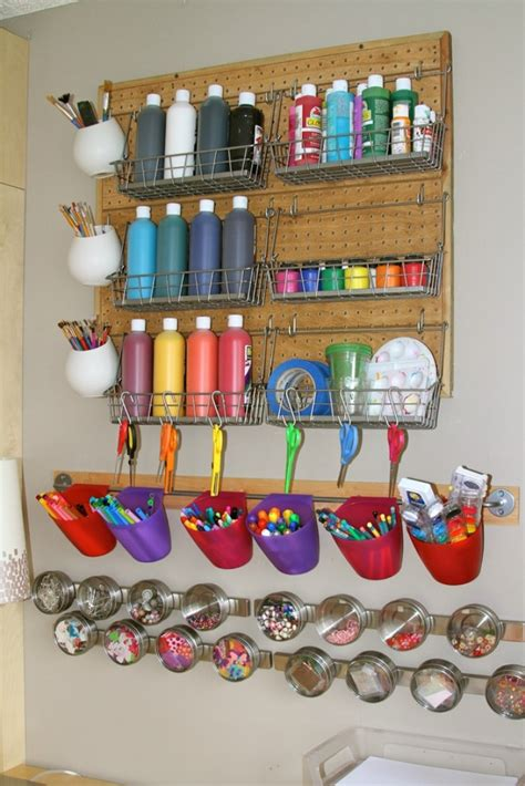 arts and crafts storage for 15 storage ideas for your arts and crafts creatistic