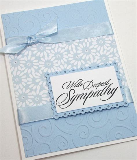 sympathy cards to make best 25 sympathy cards ideas on simple
