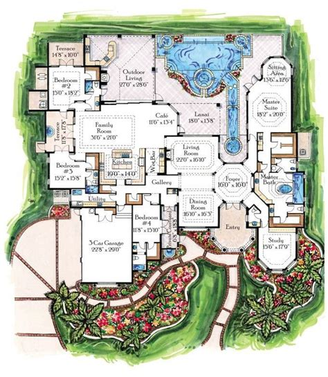 luxury house floor plans 15 must see tropical houses pins tropical house design