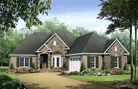 one story houses european country style one story plans the house designers