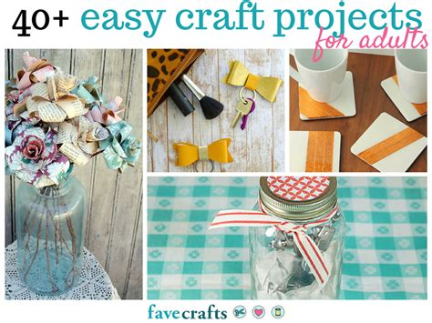 projects for adults 44 easy craft projects for adults favecrafts