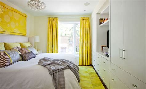 yellow bedroom furniture the way to brighten up a room with yellow curtains