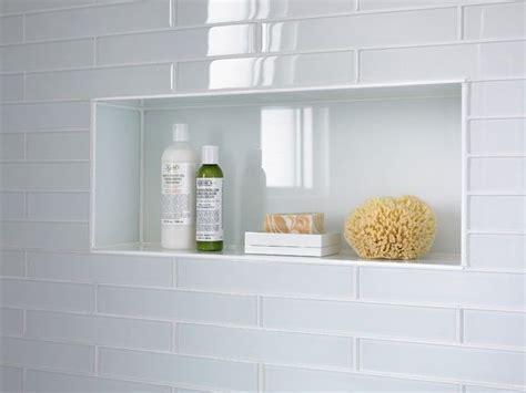 glass tiles bathroom ideas best 25 shower niche ideas on tile shower