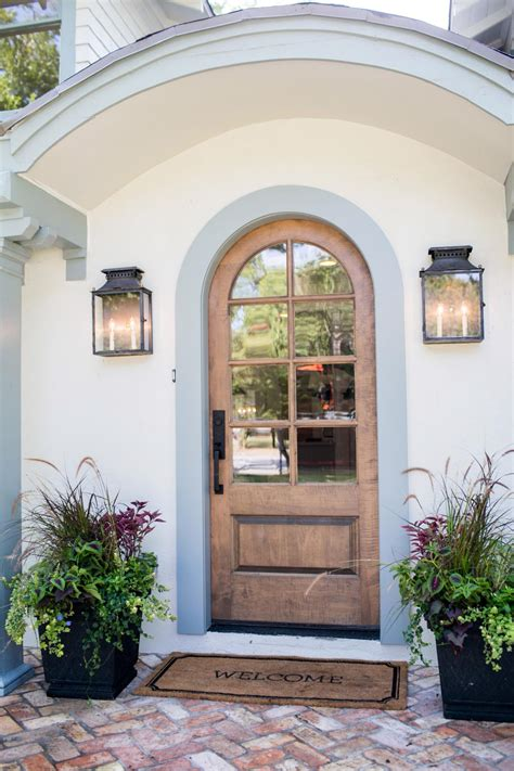 front door hgtv home entry form fixer makeover a style packed small space hgtv s