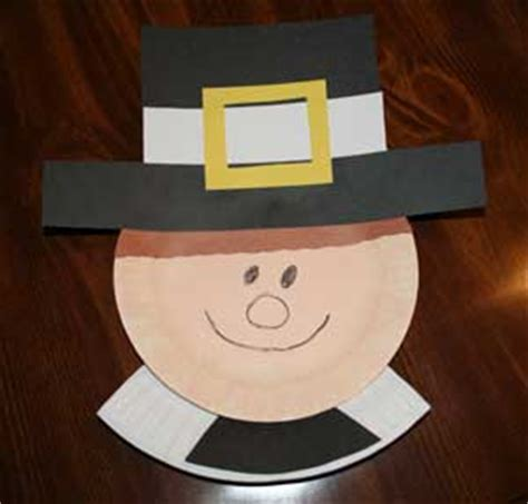 pilgrim paper plate craft top 10 thanksgiving pilgrim crafts for preschoolers