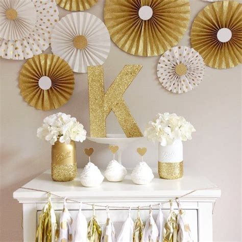 gold and white decorations 17 best ideas about gold decorations on
