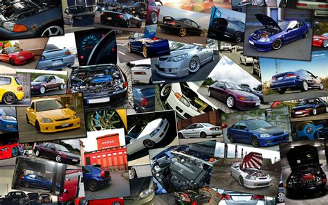 Car Collage Wallpaper by Honda Cars Collage By Th3driv3rrr On Deviantart