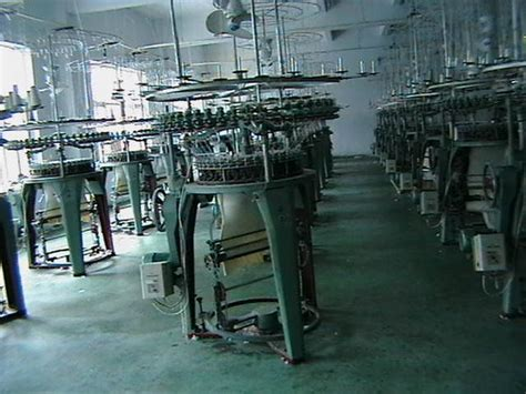 circular knitting machine denim and jean fabric