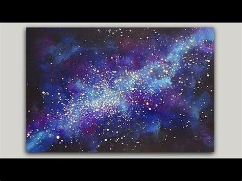 acrylic paint tutorial galaxy best 25 galaxy painting ideas on