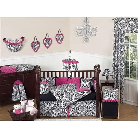 pink black and white crib bedding pink black and white crib bedding collection