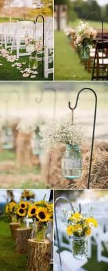 rustic outdoor decorations rustic wedding ideas 30 ways to use jars