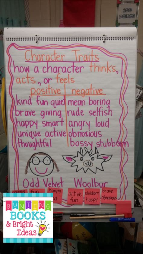 picture books for teaching character traits bunting books and bright ideas character traits
