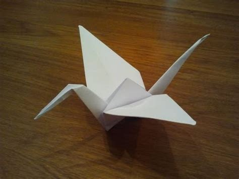 easy origami for using a4 paper how to make a paper crane origami