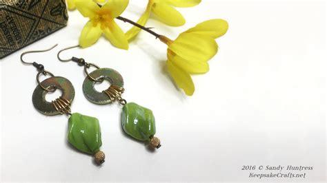 where can i buy jewelry supplies zinc yellow earrings tutorial
