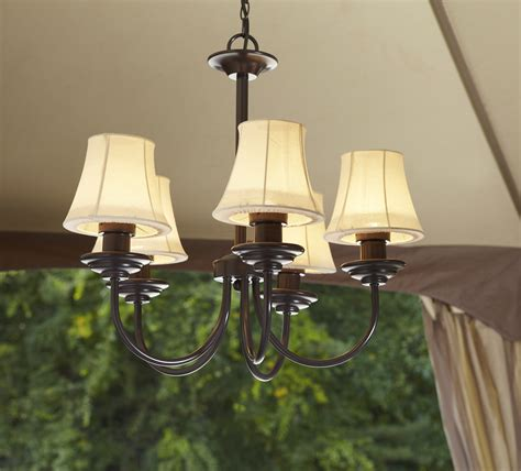 outdoor chandeliers for gazebos garden oasis electric chandelier shop your way