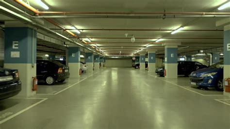 underground parking garage 4k drive through underground parking garage real time