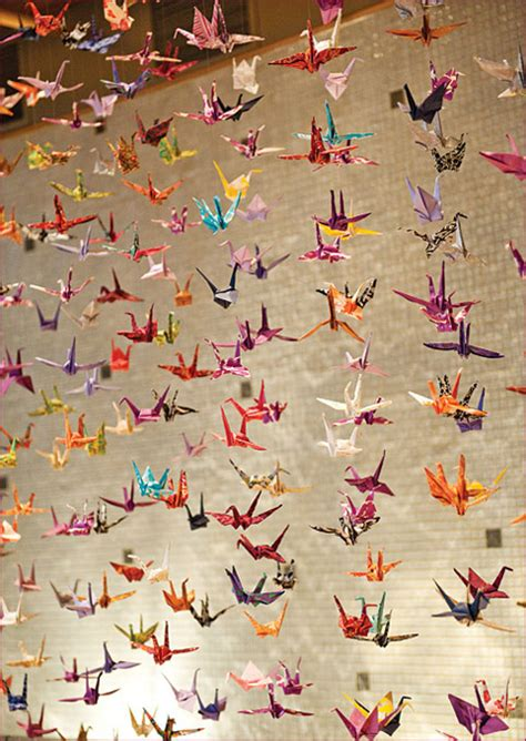 thousand origami cranes walnut paperie our newest creations