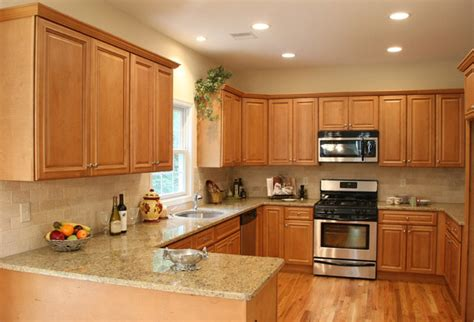 kitchen with light oak cabinets charleston light kitchen cabinets home design