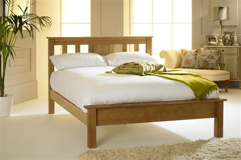 king size oak bed frame cavendish solid oak bed frame 5ft king size the oak