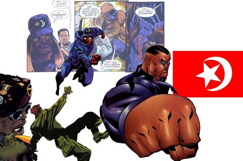 pictures of comic book characters black muslim nation of islam superheroes villains