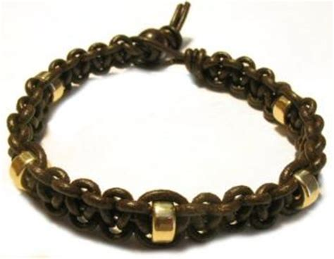 how to make leather jewelry leather bracelet