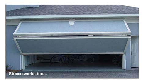 overhead bifold doors bifold overhead doors bi fold garage door non warping
