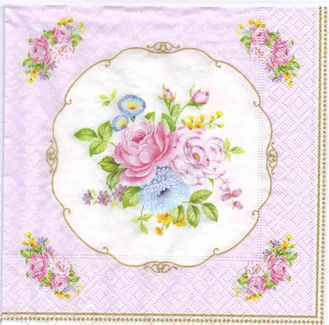 decoupage napkins decoupage napkins of vintage bouquet chiarotino