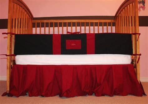 razorback crib bedding baby boy crib toddler bedding set arkansas razorbacks by