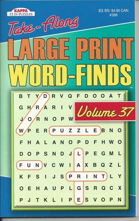picture word find puzzle books kappa take along large print word search puzzle book
