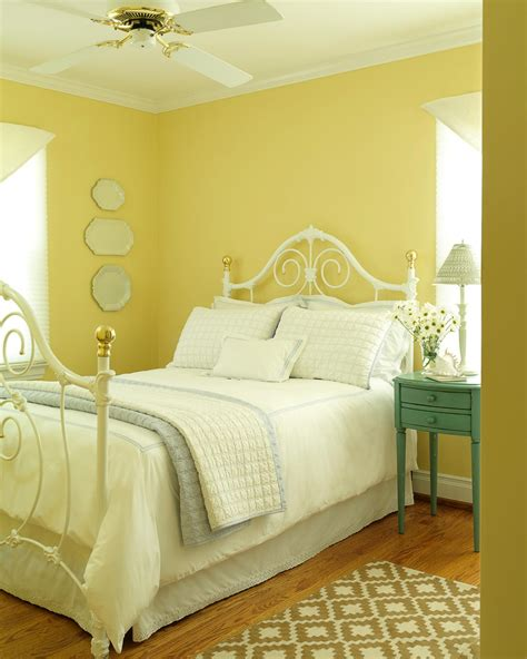 yellow bedrooms yellow cottage bedroom photos hgtv