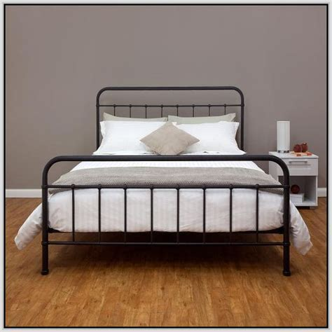 black frame bed 17 best ideas about metal bed frames on metal