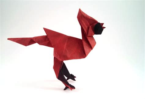 origami cardinal origami cardinals gilad s origami page