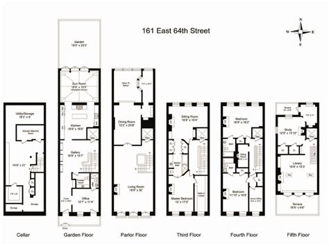 house plans with elevators townhouse floor plan with elevator floor plans nyc elevator and townhouse