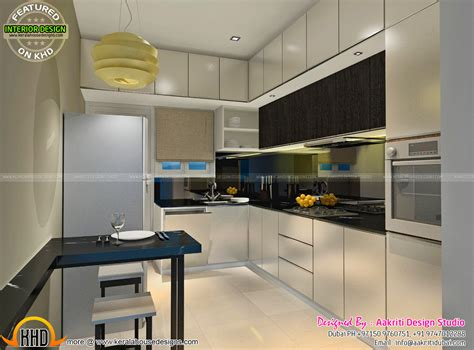 house interior design kitchen dining kitchen wash area interior kerala home design