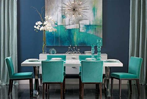 turquoise dining set turquoise gem turquoise forms a popular color pair