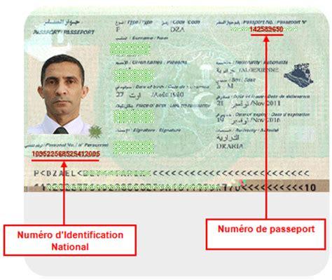 passeport biom 233 trique alg 233 rien