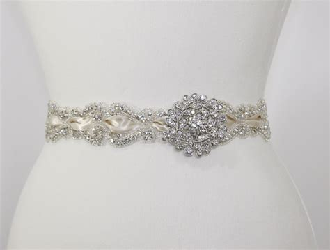 beaded bridal sash bridal sash vintage l amour wedding accessories