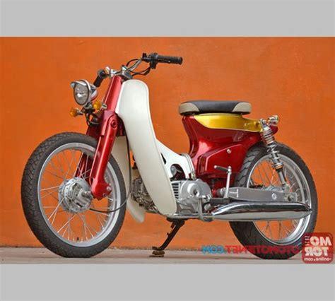 Foto Modifikasi Sepeda by Foto Modifikasi Sepeda Motor Honda C70 C700 Modif Jok Dan