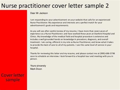 nurse practitioner cover letter