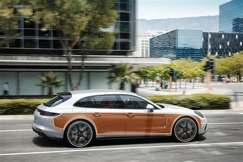 Porsche Panamera Station Wagon by Porsche Announces Panamera Woodie Special Edition
