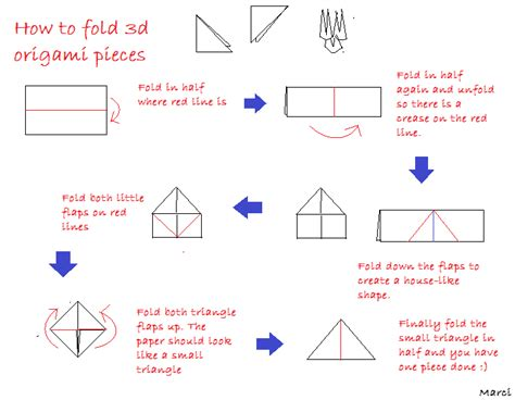 how to fold origami embracing different forms of constructing a 3d
