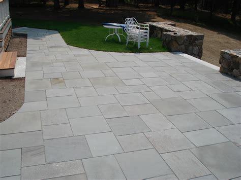 bluestone patio pavers types of patios concord stoneworks