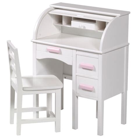 children white desk guidecraft jr rolltop desk in white from kid s playstore