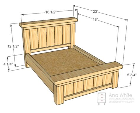 free woodworking plans for beds woodwork american doll furniture plans free pdf plans