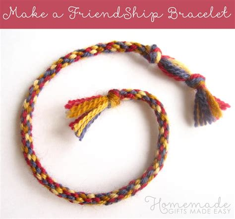 easy friendship bracelets with make a friendship bracelet the easy way