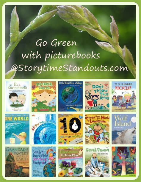 environmental picture books green picture book recommendations
