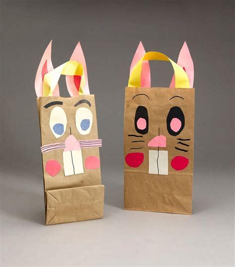 bag crafts bunny gift bags craft crayola