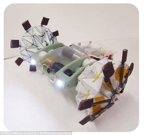 origami robot an origami inspired robot that can fold itself like a paper